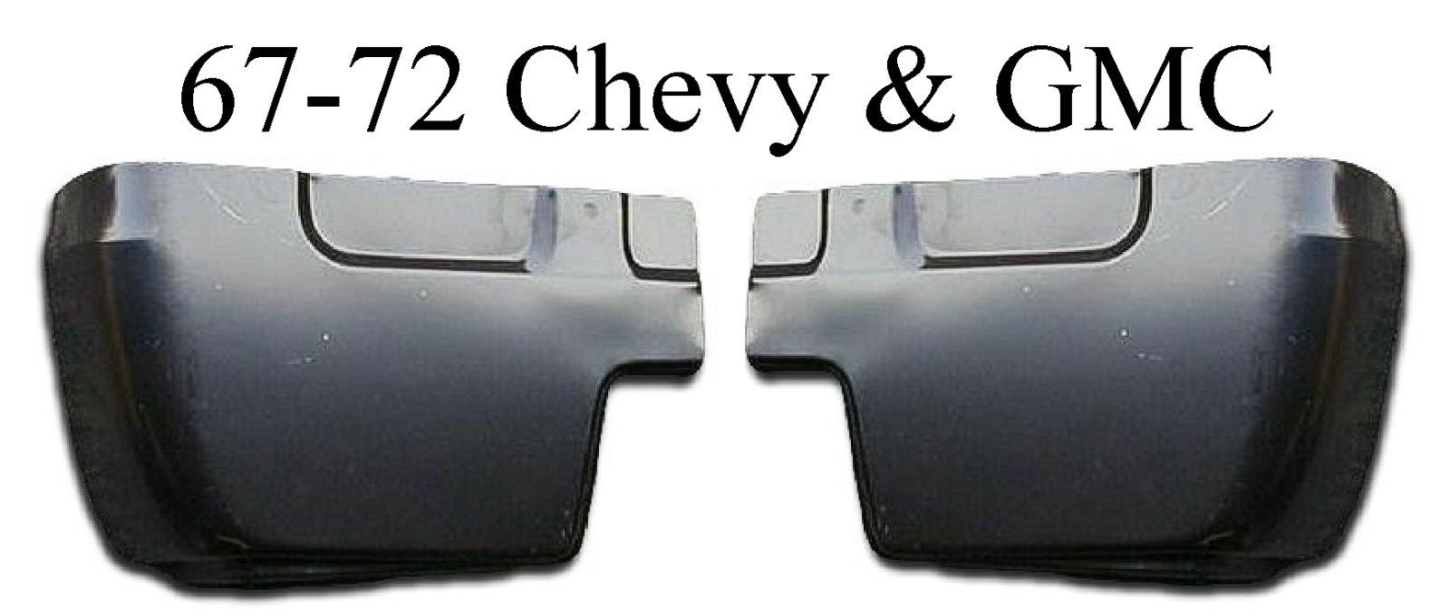 67-72 Chevy & GMC Cab Corner 2Pc Set